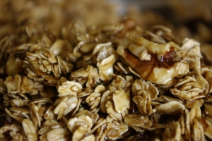the oats awaiting transformation into granola