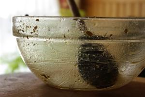 I like glass bowls.