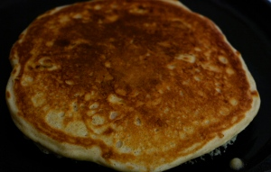 pancakes should cook up golden brown